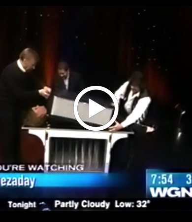 Naperville Magician on Chicago's WGN